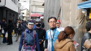 瀬戸理事とT夫妻は、初めての川越菓子屋横丁だったそうだ。