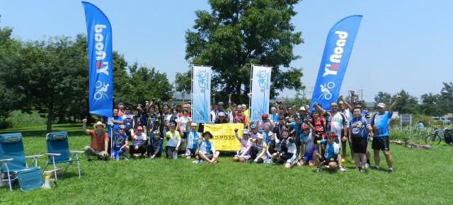 2015年7月12日(日)「グッチャリ青空ミーティング〜彩湖のマナーを考える〜」が開催され、103名のサイクリストが集まり意見交換をしました。