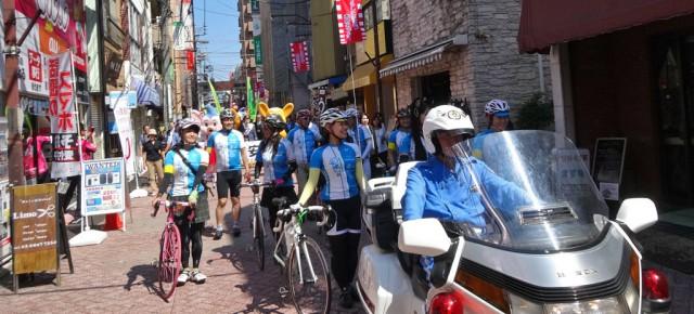 2015年9月22日(火・祝)警視庁千住警察署の交通安全パレードに参加しました!