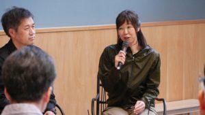 ワークショップの立役者となった、小林玲香さん。